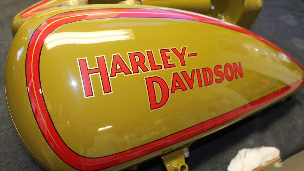 Harley-Davidson-Pinstripe