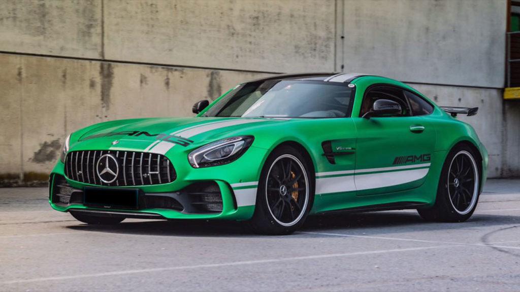 Mercedes-AMG-GTR-Vollfolierung