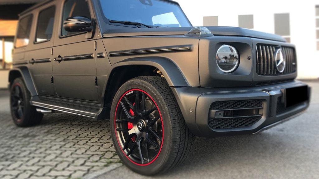 Mercedes-G63-AMG-Vollfolierung