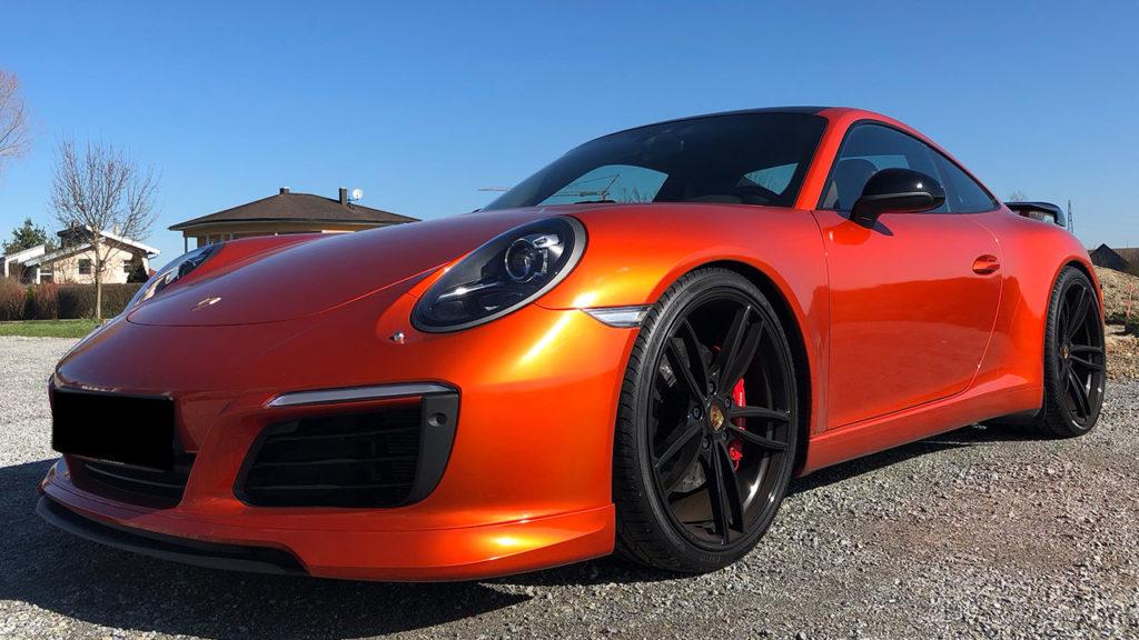 Porsche-GTS-Vollfolierung
