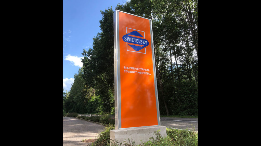 Swietelsky-Pylone