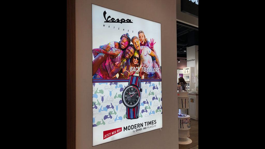 Vespa-Digitaldruck